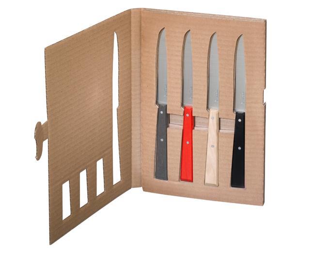 Opinel box 4 coltelli da tavola 2 for Coltelli da tavola opinel